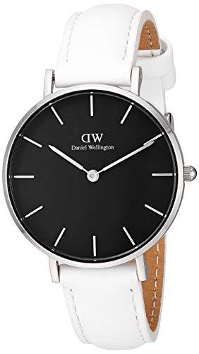 Daniel Wellington Reloj analógico para Mujeres de con Correa en Piel DW00500480