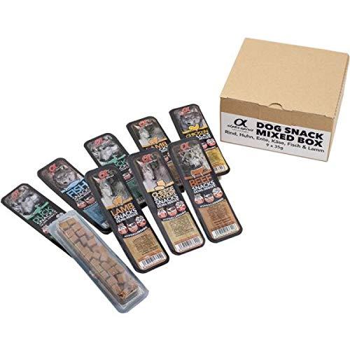 ALPHA SPIRIT Snacks Mixbox 9 x 35g