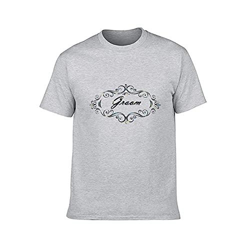 Eamibay Camiseta unisex de algodón para adultos con medias mangas S
