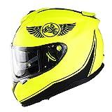 Casco Bluetooth Motocicleta para Adultos Casco Integral Doble Visera Aprobado por Dot/ECE Motocicleta Off Road Downhill Quad Bike Racing Dirt Bike Crash MTB para Unisex (55~64CM)
