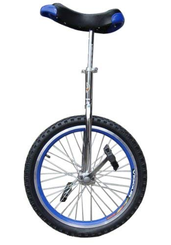 fantasycart Unicycle 20' in & Out Door Chrome Colored, Great Gift!!Skidproof tire! Thanksgiving Christmas