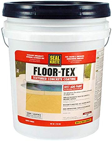Floor -Tex 40 Limited time sale Textured Concrete Soldering Coating