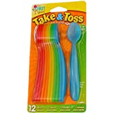 Product Image of the First Years 1234 Take & Toss Infant Spoon