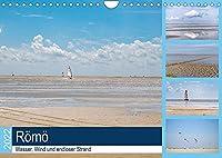 Roemoe - Wasser, Wind und endloser Strand (Wandkalender 2022 DIN A4 quer): Geniessen Sie eine Auszeit am Meer, mit 12 wunderbaren Strandaufnahmen von Roemoe. (Monatskalender, 14 Seiten )