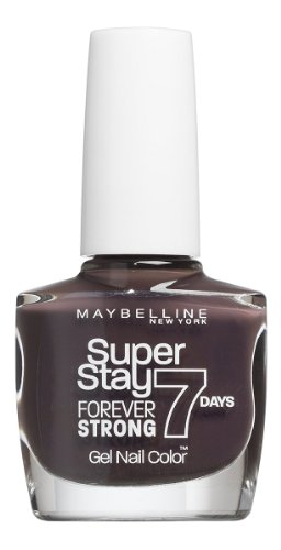 Maybelline New York Make-Up Superstay Nailpolish Forever Strong 7 Days Finish Gel Nagellack Taupe...