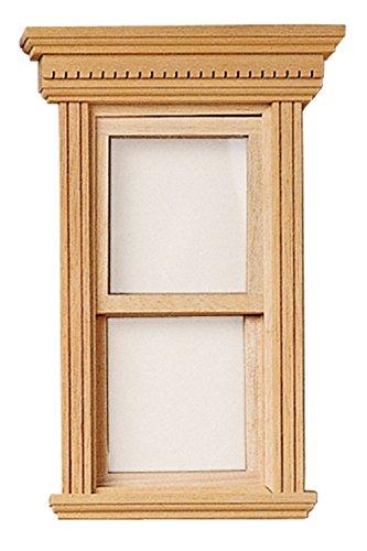Maison De Poupées Miniature Constructeurs BRICOLAGE 1:12 échelle En bois Yorktown Non-travail Fenêtre