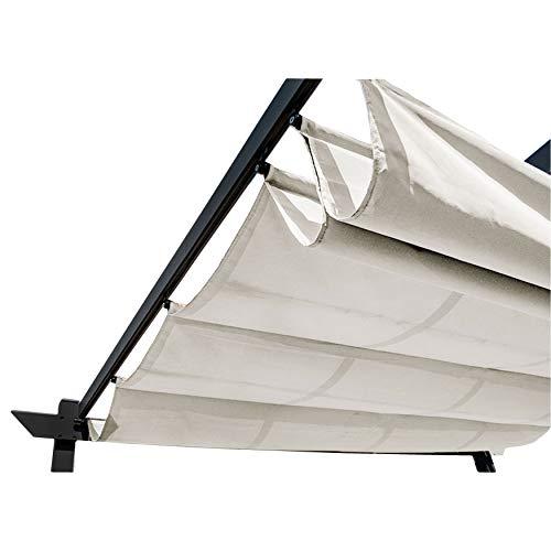 ALEKO Pergola Canopy Fabric Replacement - 13 x 10 Feet (White)
