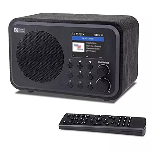KDLK Radio Digital portátil de Las radios de Internet de WiFi con la batería Recargable, Receptor de Bluetooth