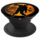 Funny Spooky & Scary Dead Walking Halloween Party Gift Idea PopSockets Grip and Stand for Phones and Tablets