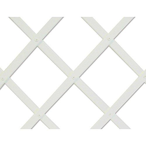 Intermas Treillis Pliable Blanc 1 x 2 m