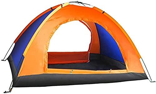 WXHHH Refugios para Tiendas de campaña Tiendas de campaña Tipo Domo para 2 Personas |Tienda de campaña de Doble Capa Resistente al Agua y al Sol, fácil de Instalar