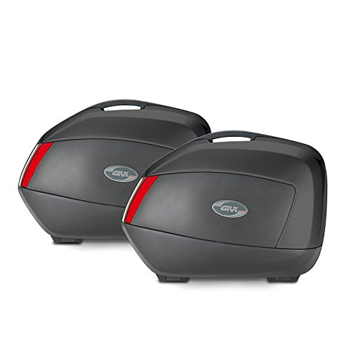 Juego de maletas laterales Suzuki GSR 600 06-11 Givi Monokey V35N negro 35 litro