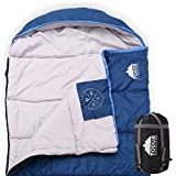 ToughOutdoors XL All Season Hooded Sleeping Bag