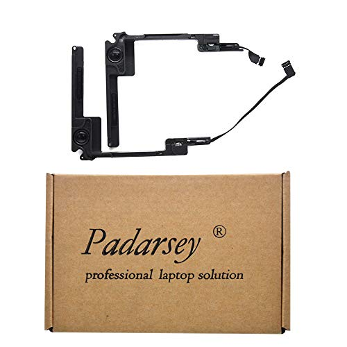 Padarsey Replacement Right and Left Speaker Compatible for MacBook Pro 13' Retina A1425 Late 2012, Early 2013