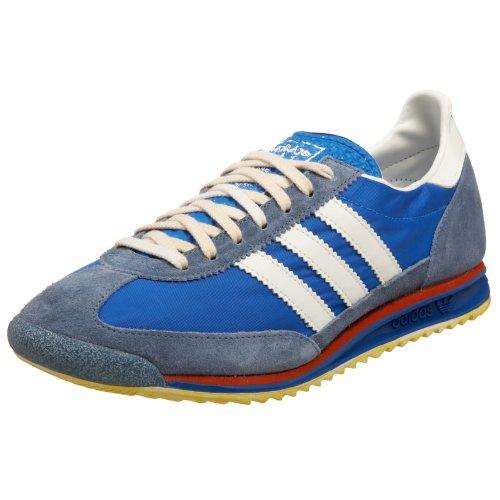 adidas Originals Men's SL 72 Sneaker,Blue/Legacy/Slate,9.5 M