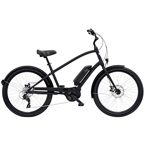 Electra Townie-Go. 8d E-Bike Hombre Bicicleta 26250W Bosch Motor eléctrico (8velocidades 25Km/h, 5684Mens, diseño Matte Black-Negro Mate