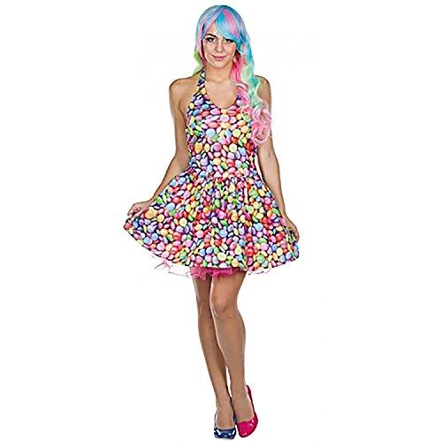 Rubie\'s Kleid Candy Schokolinsen Größe: 36