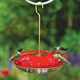 Aspects HummZinger HighView 12 Oz Hanging Hummingbird Feeder - 429, Red (Lawn & Patio)