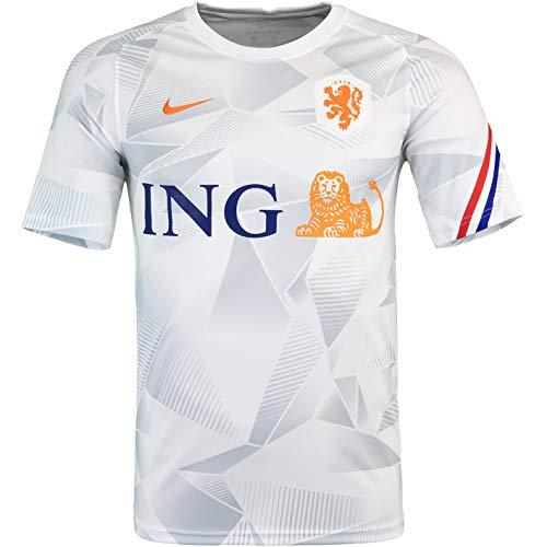 Nike Niederlande Holland Pre Match Trikot (M, White)