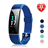 Letsfit Fitness Armband mit Pulsmesser Wasserdicht IP68 Fitness Tracker 0