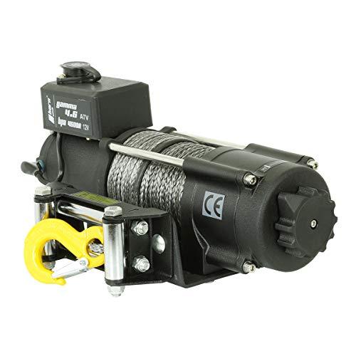 horntools Seilwinde 2,0to Gamma 4.6 ATV 24V Elektrowinde 24V Kunststoffseil Offroad 4x4 Quad ATV
