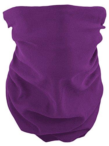 Foulard tube multifonction - violet -