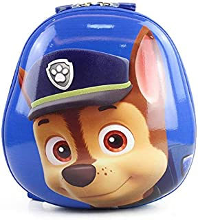 Children school backpack waterproof cartoon PAW Patrol Chase blue