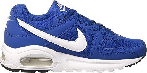 Nike Mädchen Air Max Command Flex Gymnastikschuhe, Blau (Blue Jay/White/Black), 38 EU