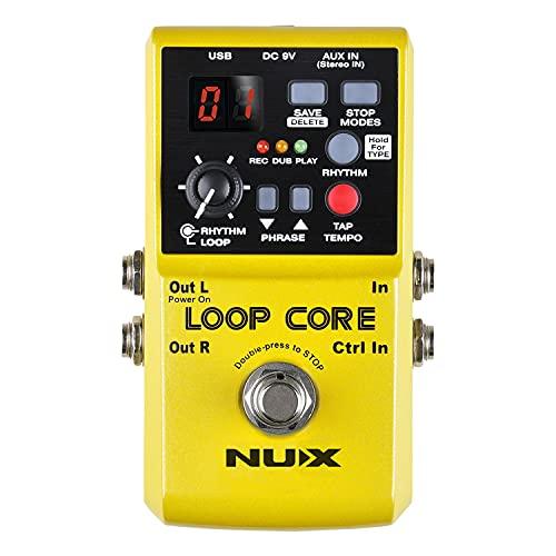 loop station vergleich loopstation Nux Loopcore Core