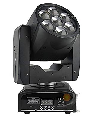 7x12W Zoom Wash Beam LED Moving Head Light for DJ Stage Disco Event Party Show