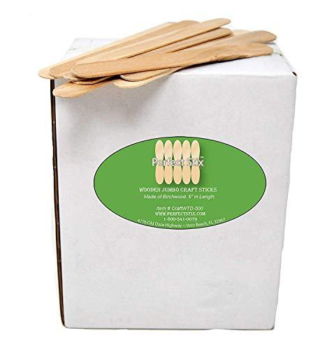 Jumbo Wooden Craft Sticks