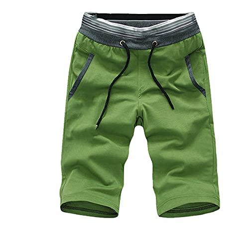 Hombres Verano Playa Pantalones Cortos de Color Bloque Pantalones Cortos