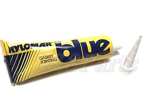 Valco Cincinnati 71283 Hylomar Blue Gasket Marker and Thread Sealant Tube with Nozzle - 100 Grams