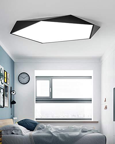 Deckenlampe LED,24W Deckenleuchte Φ40cm Einstellbar Lampe Decke Wasserdicht Moderne Dünne IP44 Deckenlampe Badezimmer Küche Schlafzimmer Bad Wohnzimmer Esszimmer Balkon Flur [Energieklasse A++]