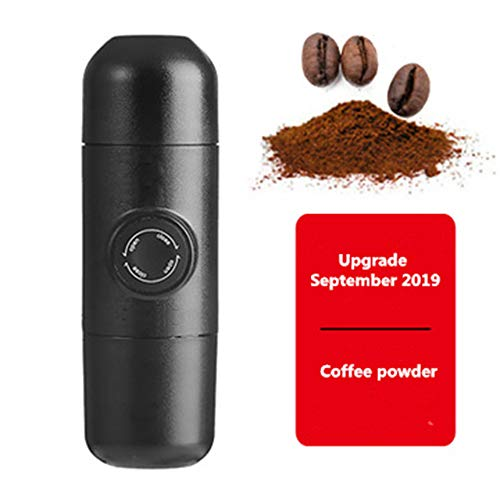 Hand Kapsel Kaffeemaschine Tragbarer Handgepresstem Haushalt Mini Amerikanische Espressotasse Im Freien,A