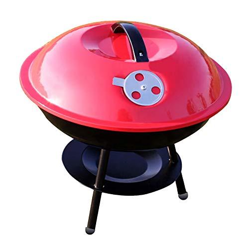LUUDE Brazier Camping Houtkachel, buitenverwarming, tuin, haard verwarming, transportbare BBQ oven