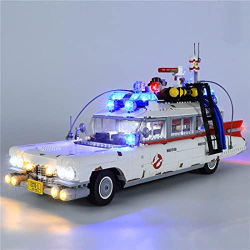 CALEN Juego de luces LED para decoración de Lego para fantasmas modelo de bloques de construcción, iluminación suave, compatible con Lego 10274 (LED incluido solamente)