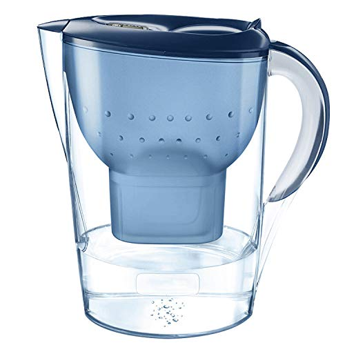 Taosheng Blue Filtered bottle 3.5L hervidor de agua potable, Azul