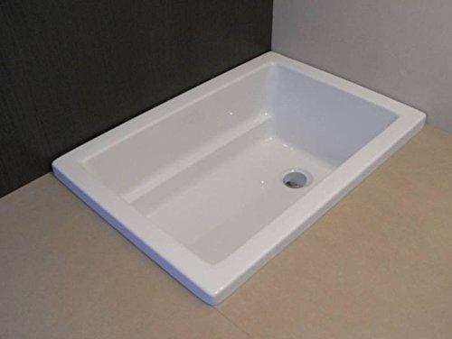 Badewanne 1000x700 mm / 100x70 cm Acryl Hundebadewanne