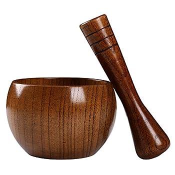 stone bowl and masher