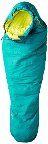 Mountain Hardwear W Laminina Z Flame Long - Emerald - 198 cm RV rechts - Komfortabler isolierter Allround Thermal.Q? Damen Schlafsack