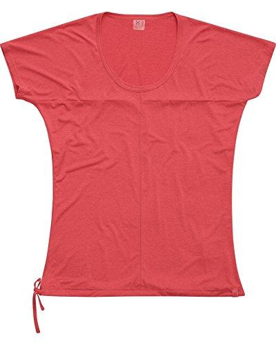 Haglöfs Ridge II - T-shirt manches courtes - rose Modèle S 2017 tshirt manches courtes