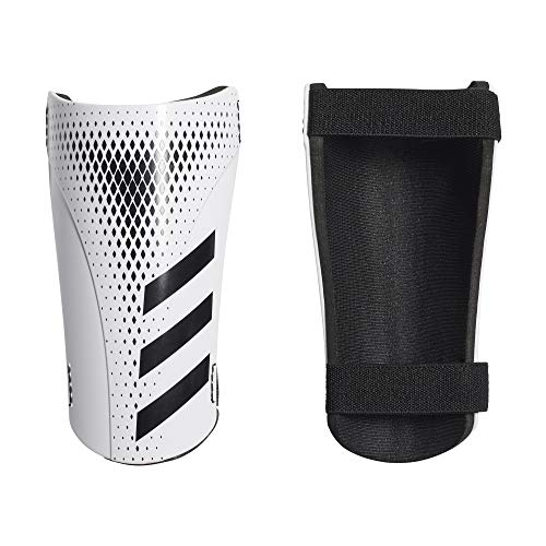 adidas Unisex 20 Training Shin Guards, White/Black, L