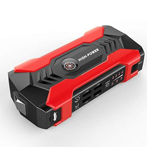 20000mAh Arrancador multifunción para automóvil 12V 4USB Cargador de batería de automóvil portátil Kit de Herramientas de Banco de energía de Arranque de Emergencia,Red