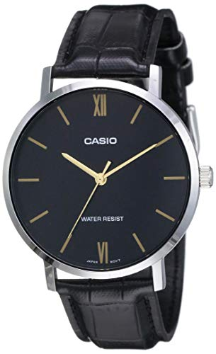 Casio Enticer Men Analog Black Dial Men's Watch MTP-VT01L-1BUDF(A1615)