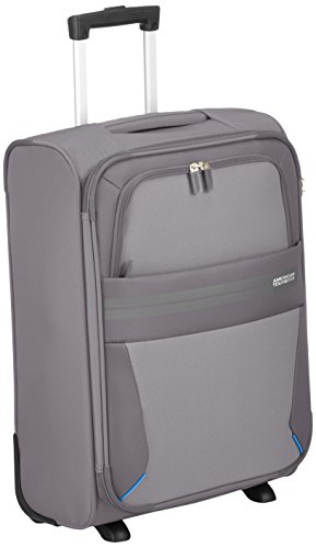 American Tourister Summer Voyager Upright Equipaje de Mano, 55 cm, 38.5 Litros, Color Gris