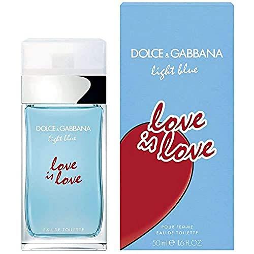 D&g light blue love is lo femme etv 50ml