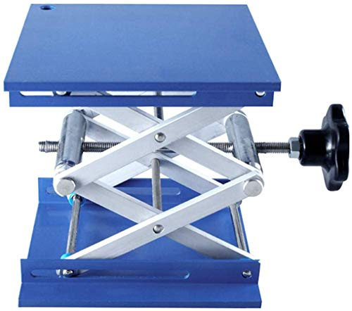 HeyWin Lab Lift Table 6x6 inch,Made of Aluminum Oxide,also Used as A Jack...