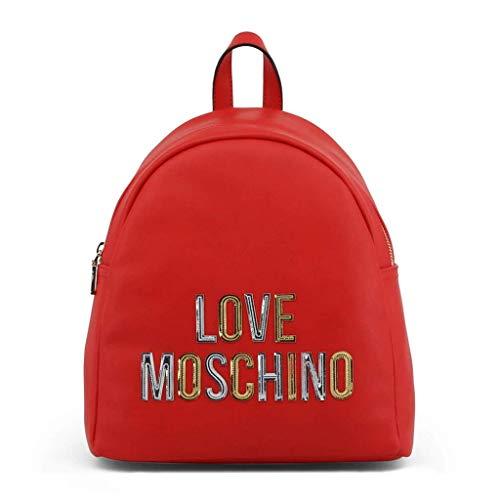 Love Moschino - Mochila para mujer, color rojo