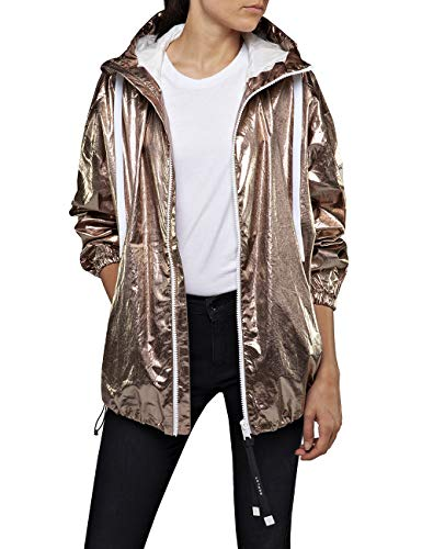 REPLAY W7551b.000.83588 Chaqueta, Dorado (Bronze 10), Medium para Mujer